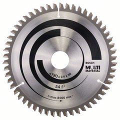 Циркулярен диск Multi 190мм х 2,4х 30мм; Z=54