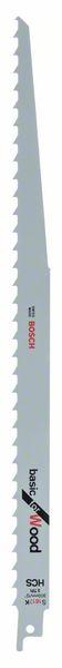 Нож за саблен трион S 1617 K, Basic for Wood