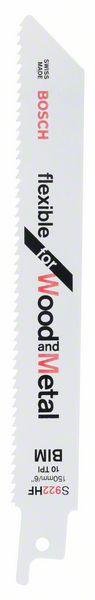 Нож за саблен трион S 922 HF, Flexible for Wood and Metal