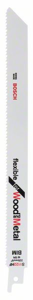 Нож за саблен трион S 1122 HF, Flexible for Wood and Metal