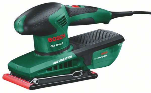 Вибрационна шлифовъчна машина PSS 200 AС на Bosch