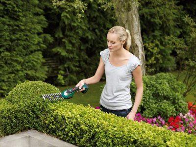 Акумулаторна ножица за храсти Bosch ASB 10,8 LI комплект