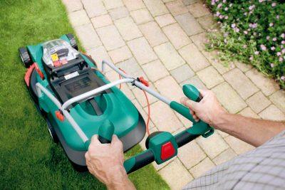 Акумулаторна косачка за трева Bosch Rotak 43 LI (2 акумулатора)