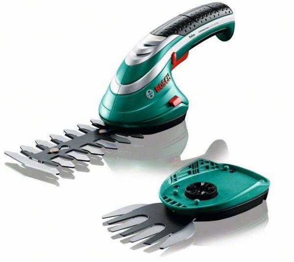 Isio - Комплект акумулаторни ножици за храсти и трева Bosch