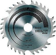 Циркулярен диск Dualcut wood