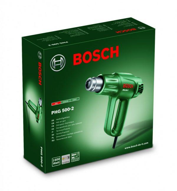 Пистолет за горещ въздух PHG 500-2 на Bosch