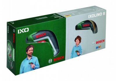 Литиево-йонен акумулаторен винтоверт IXO Christmas Set (включително IXOLINO детска играчка)