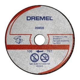 DREMEL® DSM20 диск за рязане на метал и пластмаса (DSM510)