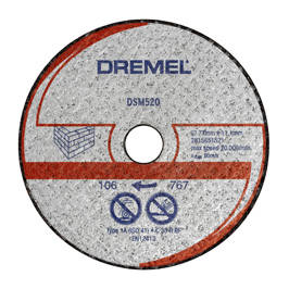 DREMEL® DSM20 диск за рязане на зидария (DSM520)