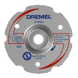 DREMEL® DSM20 универсален карбиден диск за рязане чрез потапяне (DSM600)
