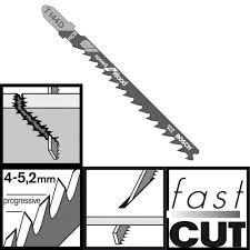 Нож за прободен трион T 144 D-100 броя