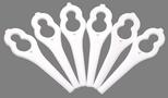 Пластмасови ножчета за тример ART 23 Accutrim