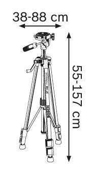Строителен статив Bosch BT 150 Professional