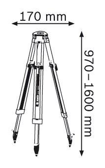Строителен статив Bosch BT 160 Professional