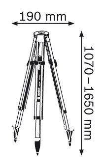 Строителен статив Bosch BT 170 HD Professional