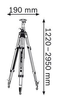 Строителен статив Bosch BT 300 HD Professional