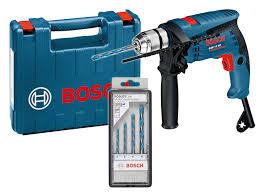 Ударна бормашина Bosch GSB 13 RE + к-кт свредла Multiconstruction