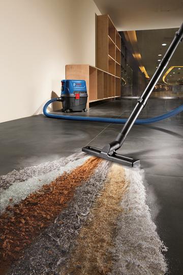 Прахосмукачка за мокро/сухо почистване Bosch GAS 15 Professional