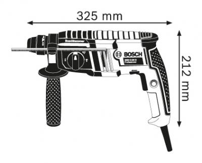 Перфоратор със SDS-plus GBH 2-20 D Professional
