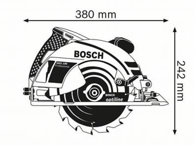 Ръчен циркуляр Bosch GKS 190 Professional
