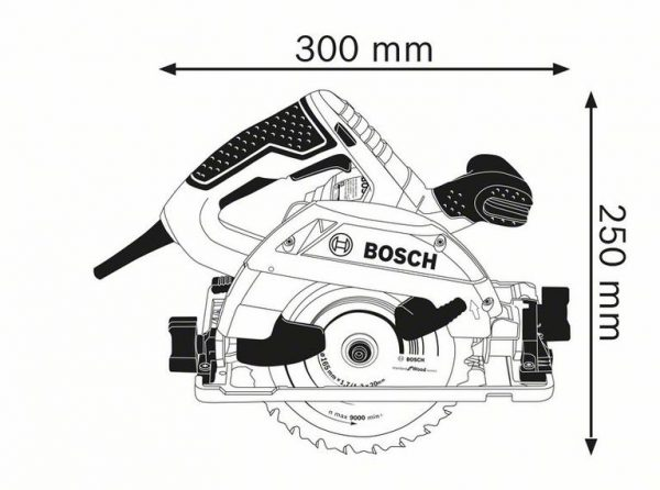 Ръчен циркуляр Bosch GKS 55+ GCE