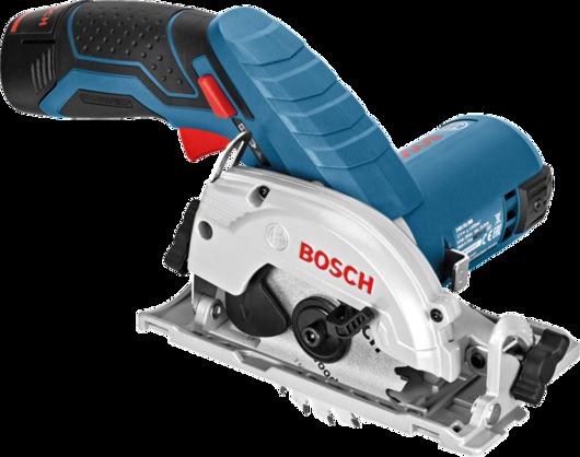 Акумулаторен циркуляр Bosch GKS 12V-26 Professional / Без батерия и зарядно/