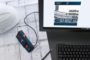 Лазерна ролетка Bosch GLM 120 C Professional +BT 150