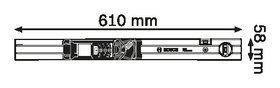 Лазерна ролетка Bosch GLM 80 + R 60 Professional