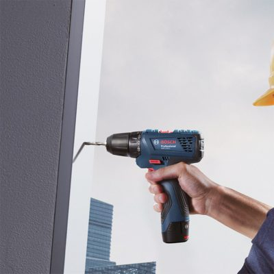 Акумулаторен ударно-пробивен винтоверт Bosch GSB 120-LI Professional
