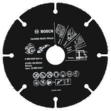 Карбиден диск Bosch за рязане Multi Wheel, 125 мм