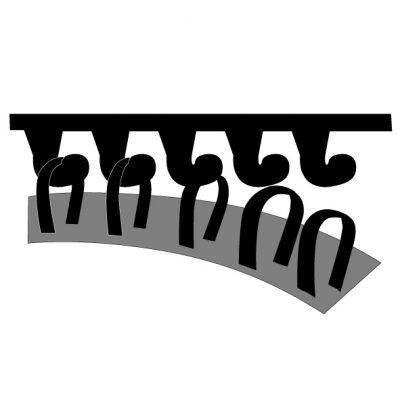 """Диск за шлайфане, система за захващане """"Велкро"""" за PWR 180 CE Bosch"""