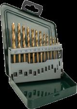 Комплект свредла за метал HSS-TiN, 13 части