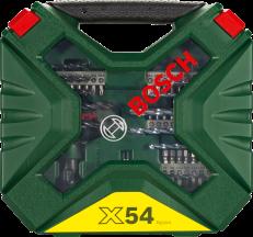 Комплект BOSCH X-Line Classic комплект свредла и битове, 54 части