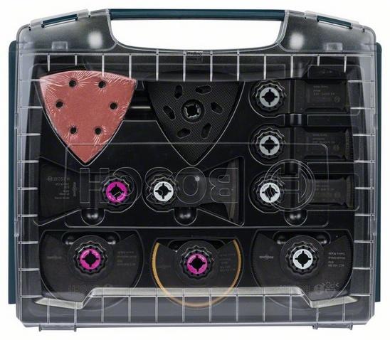 Bosch - Комплекти Starlock i-BOXX Pro, вътрешни довършителни работи, 34 части