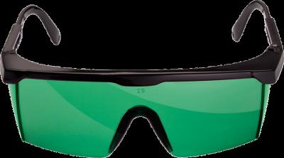 Предпазни очила за работа с лазер (зелени) Professional