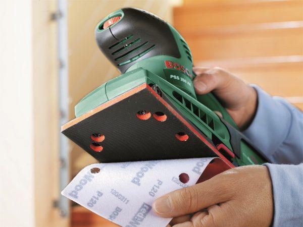 Вибрационна шлифовъчна машина PSS 250 AЕ Bosch