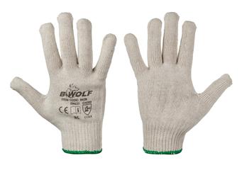 Плетени памучни ръкавици