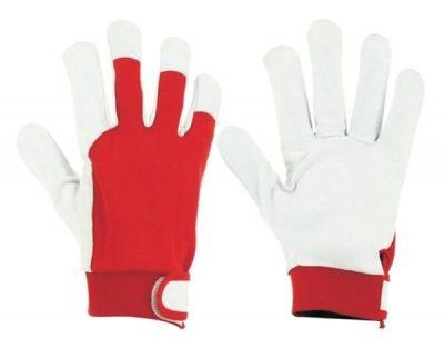 Работни ръкавици от лицева агнешка кожа B-wolf/ IGUANA