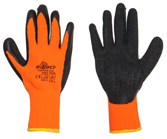 Ръкавици топени в латекс, топли