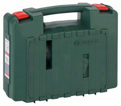 Пластмасов куфар BOSCH за ексцентършлайфи, делташлайфи, , лентови и ъглошлайфи.
