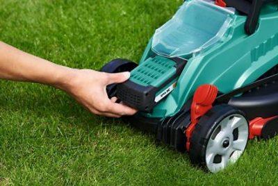 Акумулаторна косачка за трева Bosch Rotak 32 LI