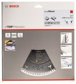 Диск за циркуляр Bosch Top Precision Best for Wood, 250mm