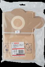 Хартиена филтърна торба BOSCH  5 броя за PAS 11-21; PAS 12-27; PAS 12-27 F